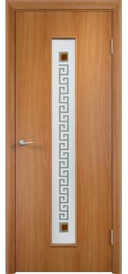 Дверь Verda ПО С17(ф) Квадрат Миланский орех