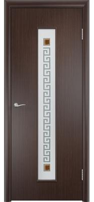 Дверь Verda ПО С17(ф) Квадрат Венге
