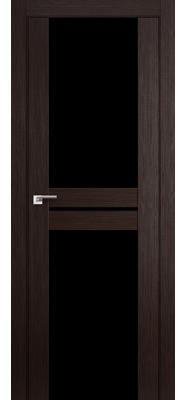 Дверь 10X Венге Мелинга Черный триплекс