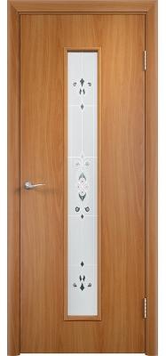 Дверь Verda ПО С21(х) Барроко Миланский орех